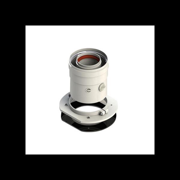 Adaptor vertical Buderus D60/100