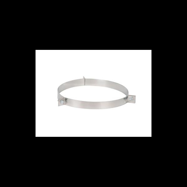 Colier inox cu 3 găuri d200