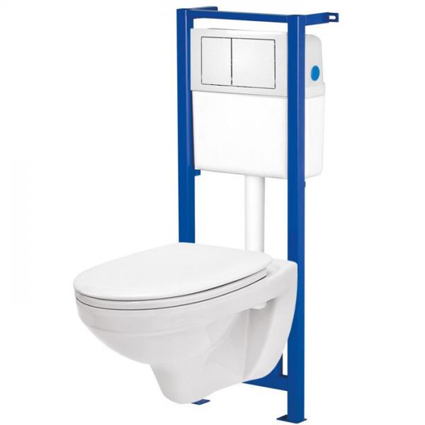 Rama WC suspendat Cersanit+WC Delfi