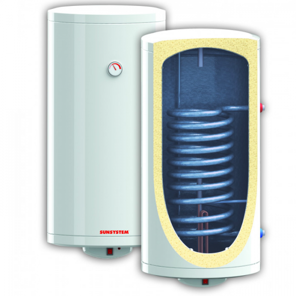 Boiler termoelectric SUNSYSTEM conectare sus 200 L V/S1